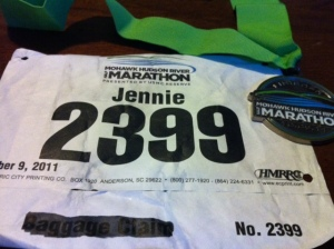 Mohawk Hudson Half Marathon Bib